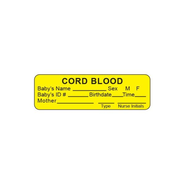 Cord Blood, Baby's Name