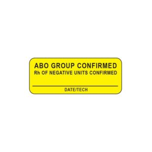 ABO Group Confirmed... Label