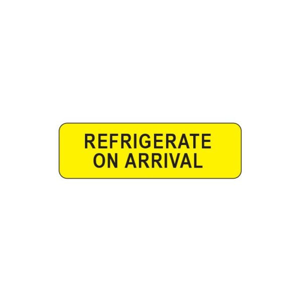 Refrigerate On Arrival